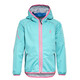 Cube Softshell jakke Junior turkis/pink
